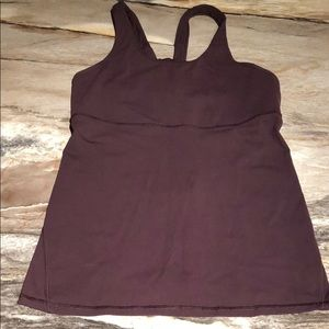 Lululemon Tank Top with built-in Bra